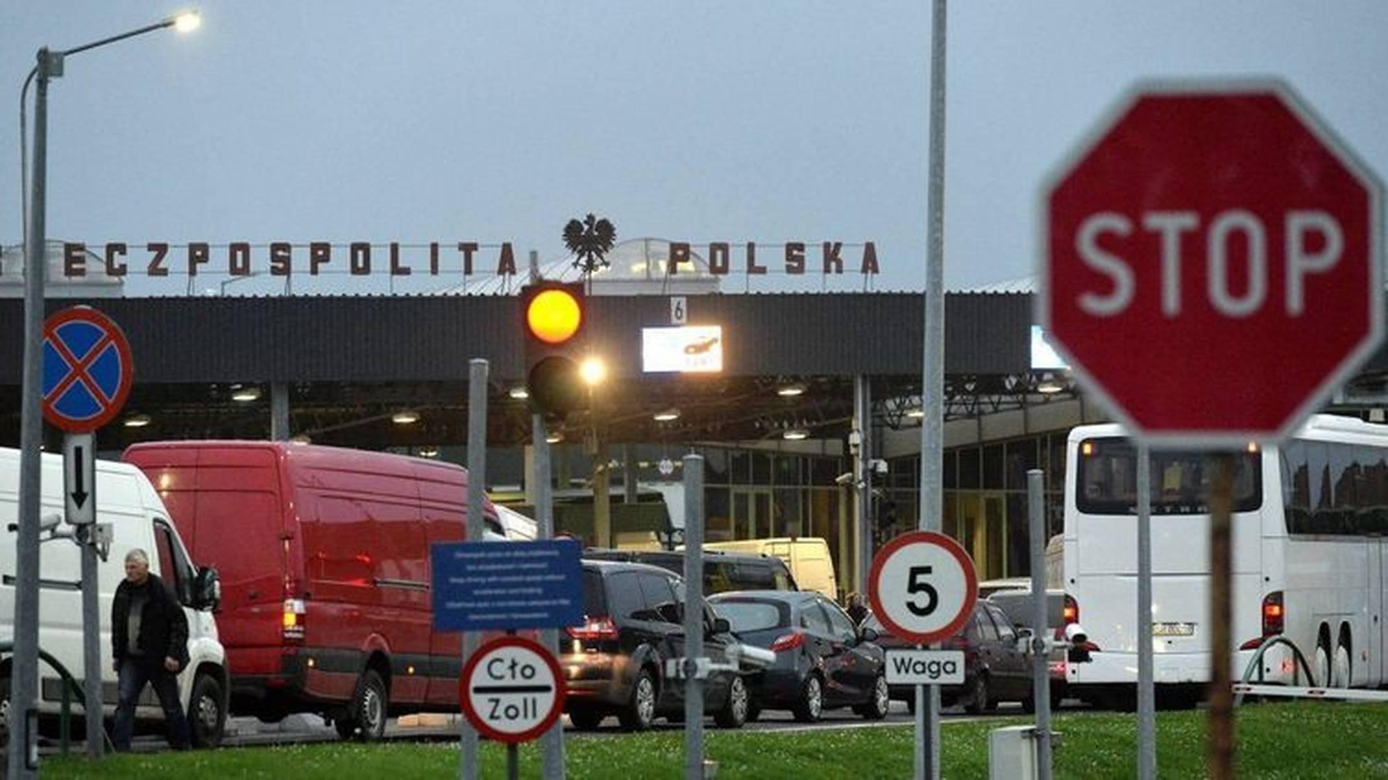 Пункты пропуска на границе Польши (Евросоюза) и стран СНГ.